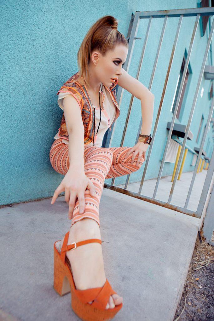 Loulou von Brochwitz Fashion Editorial Coterie Downtown Las Vegas